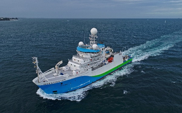 Image of research ship