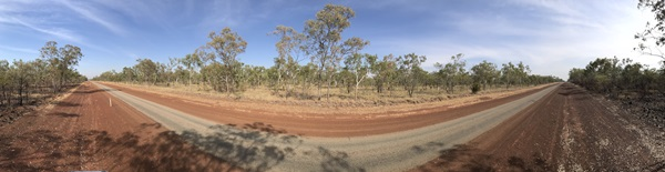 Roadway, Northern Territory