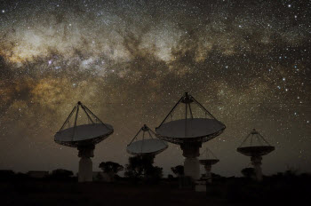 Six Billion-Year-Old Space Signal Captured by New Telescope