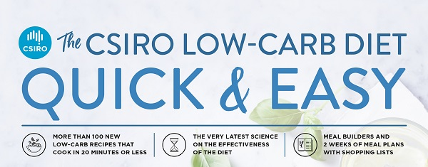Low carb diet quick and easy book