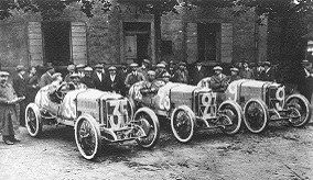 Image of old cars.