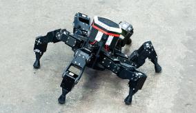 six-legged robot
