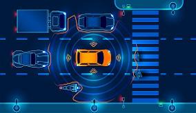 image of car sensors