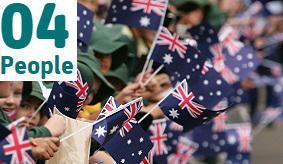image of flag waving