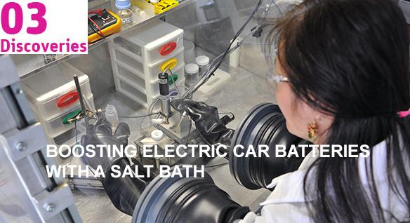 Boosting electric car batteries with a salt bath
