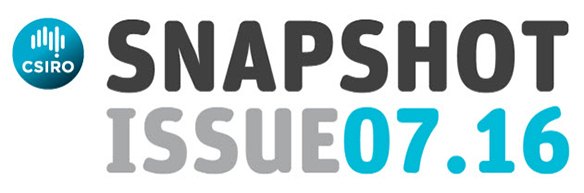 CSIRO SNAPSHOT Issue 07.16