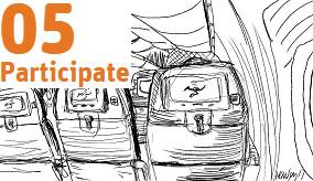 Image of plane seat.