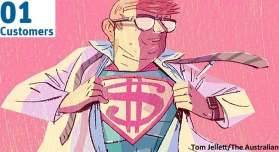 Image of super scientist