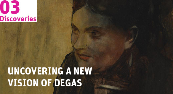 Uncovering a new vision of Degas