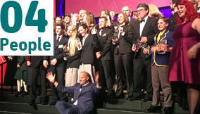 Winners at the 2016 Eureka Awards
